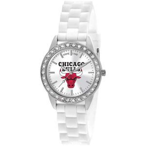 Chicago Bulls Game Time Pro Womens Frost Watch