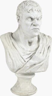Male Bust Haunted House Statue Halloween Prop   Haunted Mansion Props