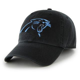 3b7514bd3 47 BRAND Mens Carolina Panthers Clean Up Adjustable Hat Size Adjustable