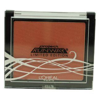 L'oreal Paris Project Runway Super Blendable Blush 726 the Queen's Blush 0.35 Oz  Face Blushes  Beauty