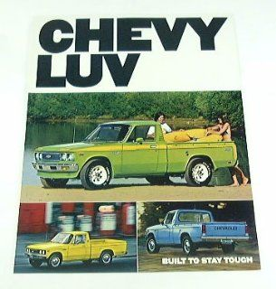 1977 77 Chevrolet Chevy LUV Truck Pickup BROCHURE  Other Products