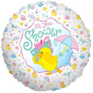 18 Inch Baby Shower Duck Betallic Balloon: Toys & Games
