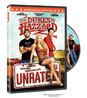The Dukes of Hazzard (Unrated Widescreen Edition): Johnny Knoxville, Seann Scott, Jessica Simpson, Burt Reynolds, Joe Don Baker, Lynda Carter, Willie Nelson, M.C. Gainey, Nikki Griffin, James Roday, Michael Weston, David Koechner, Lawrence Sher, Jay Chandr
