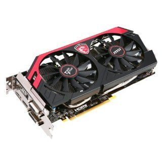MSI NVIDIA GeForce GTX 760 OC 2GB GDDR5 2DVI/HDMI/DisplayPort PCI Express Video Card N760 TF 2GD5/OC Computers & Accessories