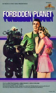 Forbidden Planet (Original Home Video Release): Walter Pigeon, Anne Francis, Leslie Nielsen, Robby the Robot, Fred McLeod Wilcox, Nicholas Nayfack: Movies & TV