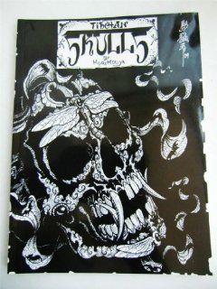 Tibetan Skulls Japan Horimouja Jack Mosher Japanese style tattoo Flash Book: Health & Personal Care