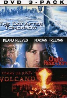 The Elements 3 Pack (Chain Reaction / Volcano / The Day After Tomorrow): Dennis Quaid, Jake Gyllenhaal, Emmy Rossum, Tommy Lee Jones, Anne Heche, Keanu Reeves, Morgan Freeman, Dash Mihok, Jay O. Sanders, Sela Ward, Austin Nichols, Arjay Smith, Andrew Davis
