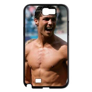Cristiano Ronaldo No Shirt case for Samsung Galaxy Note 2 N7100 hard cases / Design and made to order / Custom cases: Cell Phones & Accessories