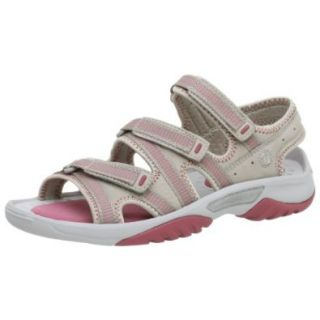 privo Women's Perro Velcro Sandal,Stone,5 M: Shoes