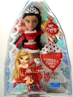 2007   MGA Ent   Holiday Dol   Bratz Holiday Yasmin Doll   Bonus Tiara   E Z Open Package   Christmas   Rare   Collectible   New: Toys & Games