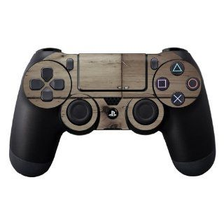 MightySkins Protective Vinyl Skin Decal Cover for Sony PlayStation DualShock 4 Controller Sticker Skins Wooden: Video Games