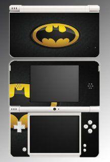Original Retro Batman Logo Bat Man Joker Comic Movie Cartoon TV Show Video Game Vinyl Decal Cover Skin Protector for Nintendo DSi XL Console System: Video Games