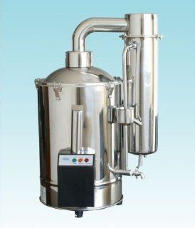 Auto Control Water Distiller, Water Distilling Machine, Distilled water, 20L/h   Automotive Battery Products