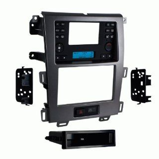 Metra 99 5829CH Single/Double DIN Stereo Installation Dash Kit for 2011 up Ford Edge