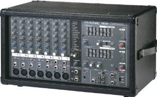 Phonic Powerpod 780 Plus 2X300W 7 Channel Powered Mixer with Digital Effects Musical Instruments