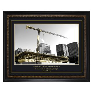 Trump Construction Framed Wall Art   20W x 24H in.   Photography