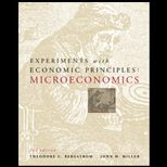 Experiments with Economic Principles : Microeconomics