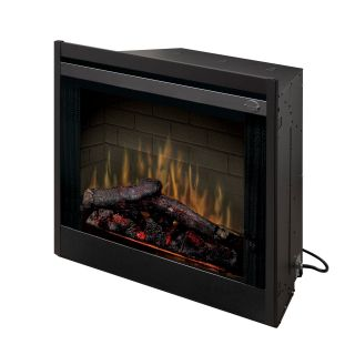 Dimplex 33 in. Built In Electric Fireplace Insert   Electric Inserts