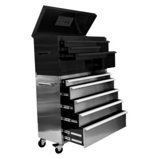 Trinity 45 in. Stainless Steel Roller Tool Chest   Tool Chests & Cabinets