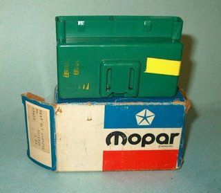 NOS MoPar Seat Belt Interlock Control Module for 1974 1975 Plymouth Duster   Scamp   RoadRunner   Satellite   Valiant & Dodge Charger   Dart   Sport w/Man Transmission Automotive