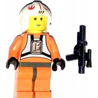 LEGO Star Wars Minifig Luke Skywalker Pilot Toys & Games