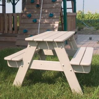 POLYWOOD® Recycled Plastic Kids Picnic Table   Picnic Tables