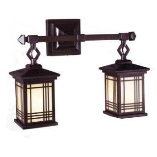 Dale Tiffany Avery Lantern 2 Light Wall Sconce   18.25 watt in. Antique Bronze   Tiffany Wall Lights