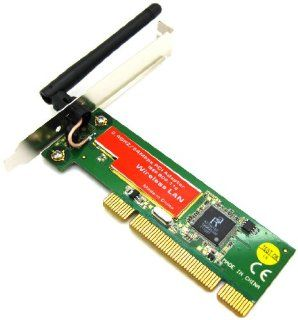 PCI Wireless LAN Network Ethernet Card Adapter Converter WiFi 802.11G/B 54M 54Mbps RT2561 Chipset Computers & Accessories