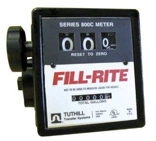 Tuthill Fill Rite Mechanical Fuel Meter (807CMK): Home Improvement