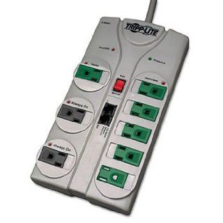 TLP808NETG Eco Surge Green, 8 Outlet, Tel DSL, 8ft Cord, 2160 Joules