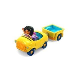 Dora the Explorer and Tico's Take Along Car with Trailer by Learning Curve Toys & Games