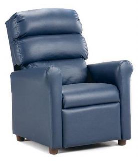 Brazil Furniture Waterfall Back Child Recliner   Kids Recliners