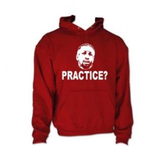 "Shedd Shirts Men's Allen Iverson Philadelphia ""Practice"" Hooded Sweatshirt: Novelty Hoodies: Clothing"