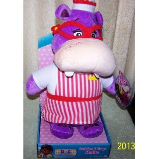 Just Play Doc McStuffins Cuddles and Hugs Hallie Talking Plush: Toys & Games