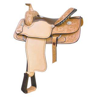 Billy Cook Saddlery Half Breed Roper Saddle   Western Saddles and Tack