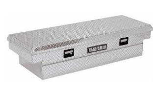 Tradesman Mid size Truck 59 in. Aluminum Cross Bed Tool Box   Truck Tool Boxes