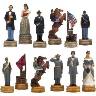 American Civil War Chess Pieces   Chess Pieces