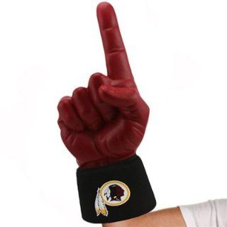 NEW Washington Redskins #1 Ultimate Fan NFL Foam Hand Finger Officially Licensed by the National Football League  Sports Fan Rally Towels  Sports & Outdoors