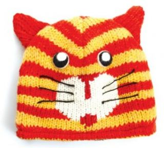 City Hunter Ck810 Animal Wool Beanie Hat   cat at  Men�s Clothing store