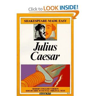 Julius Caesar (Shakespeare Made Easy) (9780812035735) William Shakespeare, Alan Durband Books