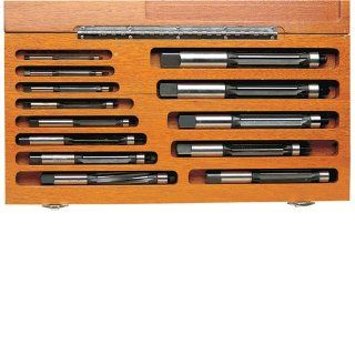 "TTC 13 Piece Straight Shank High Speed Steel Hand Expansion Reamer Set   Flute Shape: Straight flute Tool Material: H.S.S. Size: 1/4""to1"" by 16ths: Straight Router Bits: Industrial & Scientific"