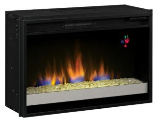Classic Flame 26 in. Contemporary Electric Fireplace Insert   Electric Inserts