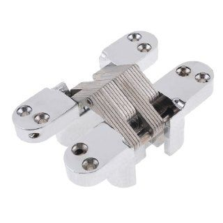 180 Degree Turning Concealed Cross Hinge 110mm Long for Furniture Door   Cabinet And Furniture Hinges