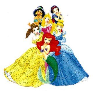 Princesses BELLE Ariel CINDERELLA Aurora SNOW WHITE Jasmine Disney Heat Iron On Transfer for T Shirt : Other Products : Everything Else