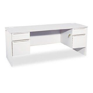 38000 Series Kneespace Credenza, 72w x 24d x 29 1/2h, Light Gray/Light Gray by HON (Catalog Category: Furniture & Accessories / Credenzas) : Office Credenzas : Office Products