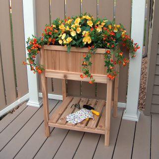 Prairie Leisure Spring Garden Raised Planter with Liner   Raised Bed & Container Gardening