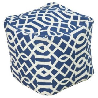 Surya Square Polyester Pouf   Ottomans