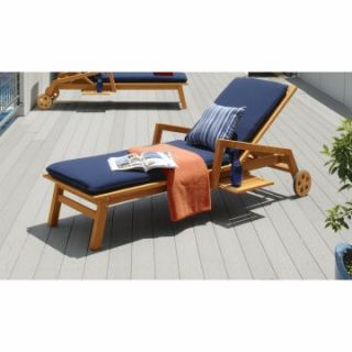 Oxford Garden Siena Chaise Lounge Set   Outdoor Chaise Lounges