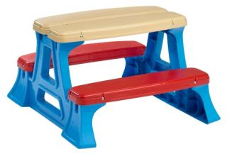 American Plastic Toys Picnic Table   Picnic Tables