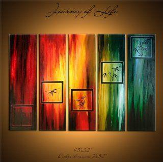 """JOURNEY"" DIGITAL ORIGINAL PAINTING ACRYLIC ART CANVAS   Water Color Prints"